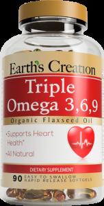Triple Omega 3 6 9 Earth S Creation Usa